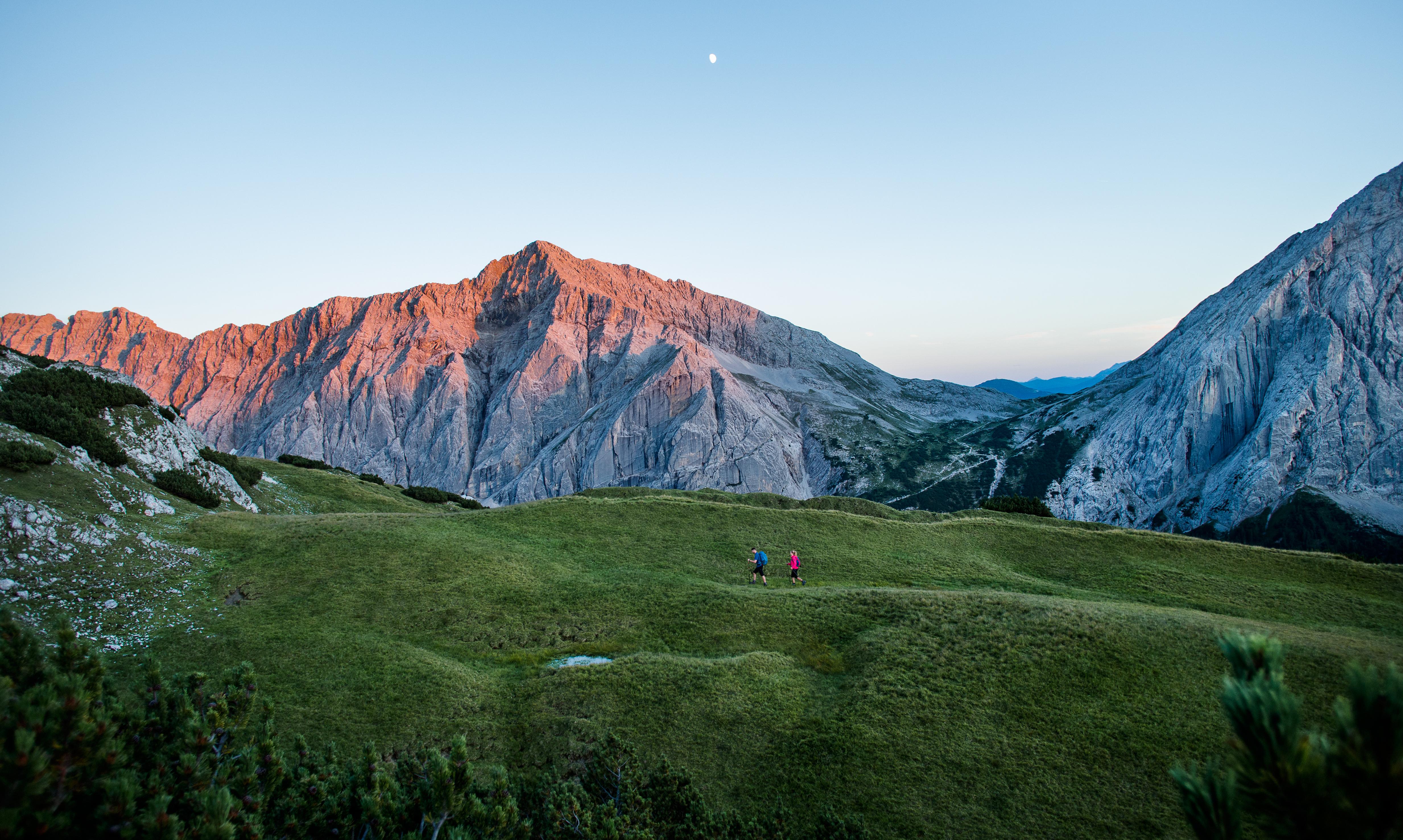 Wanderung im Karwendel Naturpark