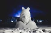 Schneeskulpturenwanderung in Leutasch